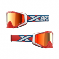 EKS-S 2020 IRIDIUM GOGGLE WHITE/RED